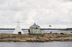 Kobba Klintar,奥兰群岛 图库摄影
