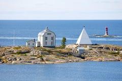 Arcipelago delle isole di Aland, Kobba Klintar Immagini Stock Libere da Diritti