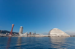 Kobe Bay in Dag Royalty-vrije Stock Afbeeldingen