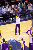Kobe Bryant in the game against New Jersey Nets Stock Photography