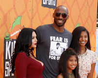 Kobe Bryant, Vanessa Bryant, Gianna Maria Onore Bryant and Natalia Diamante Bryant Stock Photos