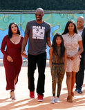 Kobe Bryant, Vanessa Bryant, Gianna Maria Onore Bryant and Natalia Diamante Bryant Royalty Free Stock Photos