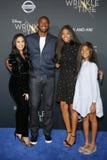 Kobe Bryant, Vanessa Bryant, Gianna Maria Onore Bryant och Natalia Diamante Bryant arkivfoton