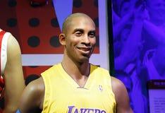 Kobe Bryant, wosk statua, wosk postać, figura woskowa Zdjęcia Royalty Free