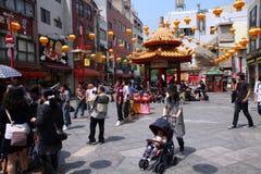 Kobe Chinatown Lizenzfreie Stockfotos