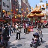 Kobe Chinatown lizenzfreies stockfoto