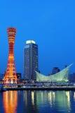 Kobe city at night Stock Photos