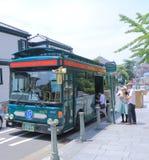 Kobe City-Touristenbus Stockfotos