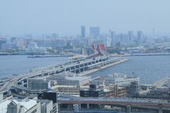 Kobe city view Japan  Royalty Free Stock Images