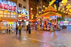 Kobe, de Chinatown van Japan royalty-vrije stock afbeelding