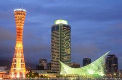 Kobe, de Horizon van Japan Royalty-vrije Stock Afbeelding