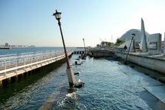 Kobe-Erdbeben-Denkmal Stockbild