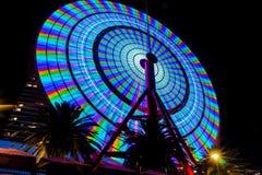 Free Kobe Ferris Wheel Lighten Up At Night Royalty Free Stock Photography - 157550577