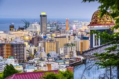 Kobe, Giappone Fotografie Stock