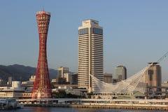 Kobe Harbor Japan Royaltyfri Foto