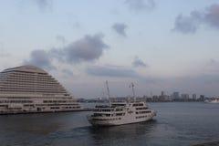 Kobe Harbor Japan Royaltyfria Bilder