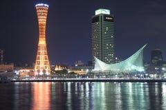 Kobe Harbour night view  Royalty Free Stock Image