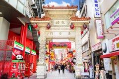 Kobe Japan Chinatown Arkivbilder