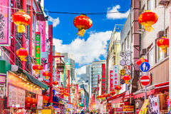 Kobe, Japan Chinatown Stock Photos