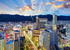 Kobe, Japan Downtown Skyline Royalty Free Stock Photography