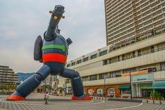 The huge Gigantor of Kobe, Japan royalty free stock photography