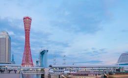 KOBE, JAPAN - January 31, 2016:Kobe tower at  Port of Kobe Royalty Free Stock Photos
