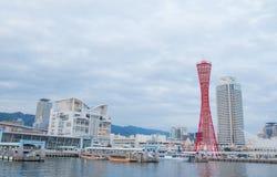 KOBE, JAPAN - January 31, 2016:Kobe tower at  Port of Kobe Royalty Free Stock Photography