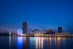 KOBE, JAPAN - January 31, 2016: Mosaic shopping mall at Kobe port. Of Kobe,Japan Stock Photography