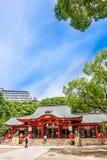 Kobe, Japan - 27. Juni 2017: Ikuta-Schrein in Kobe-Stadt Japan Lizenzfreies Stockbild