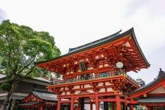 Kobe, Japan - 27. Juni 2017: Ikuta-Schrein in Kobe-Stadt Japan Lizenzfreie Stockfotografie