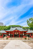 Kobe, Japan - 27. Juni 2017: Ikuta-Schrein in Kobe-Stadt Japan Stockbild