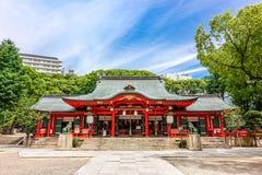 Kobe, Japan - 27. Juni 2017: Ikuta-Schrein in Kobe-Stadt Japan Stockfotos