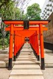 Kobe, Japan - 27. Juni 2017: Ikuta-Schrein in Kobe-Stadt Japan Stockfoto