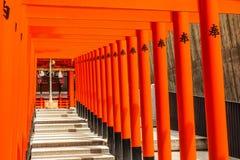Kobe, Japan - 27. Juni 2017: Ikuta-Schrein in Kobe-Stadt Japan Lizenzfreies Stockfoto
