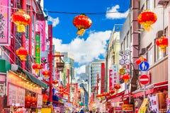 Kobe Japan kineskvarter Arkivfoton