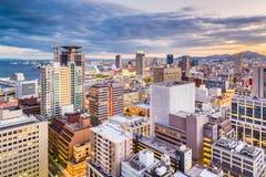 Kobe, Japan Motomachi Cityscape Royalty Free Stock Photography