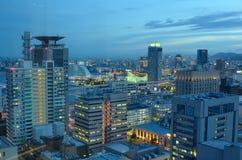 Kobe, Japan Skyline Royalty Free Stock Images