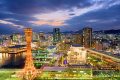 Kobe Japan Skyline Royalty Free Stock Photography