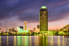 Kobe Japan Skyline Stock Photography