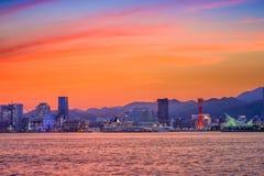 Kobe Japan Skyline Stock Photo