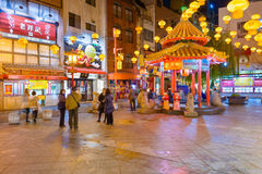 Kobe, Japonia Chinatown Obraz Royalty Free
