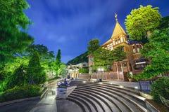 Kobe, Japonia obcokrajowowie Stwarzają ognisko domowe Zdjęcie Stock
