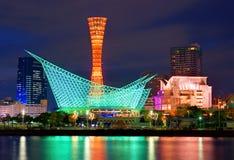 Kobe Japonia portu wierza zdjęcia royalty free