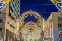 Kobe Light Up Royalty Free Stock Photos