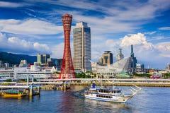 Kobe linia horyzontu obrazy stock