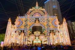 Kobe Luminarie Royalty-vrije Stock Afbeeldingen