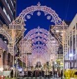 Kobe Luminarie Fotografia Stock