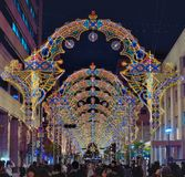 Kobe Luminarie Royalty Free Stock Photos