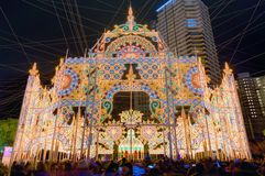 Kobe Luminarie Royalty Free Stock Images