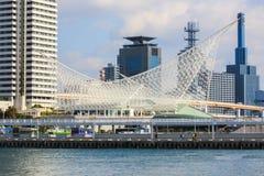 Kobe Maritime Museum Meriken parkerar, Kobe, Japan Arkivfoto